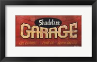 Framed Shadetree Garage