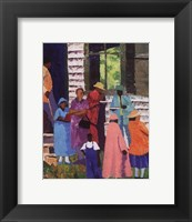 Going To Church Framed Print