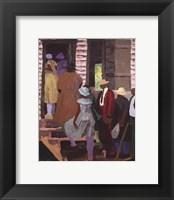 Church Picnic Framed Print
