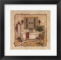 Framed Art Deco Bath II