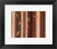 Framed Striped Autumn I
