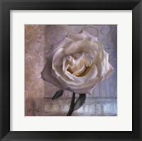 Framed Modern Rose I