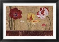 Framed Tulip Journal III