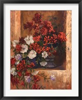 Flores De Espana I Framed Print