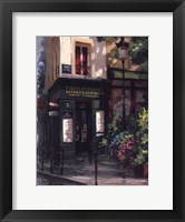 Left Bank Book Shop Framed Print
