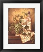 Framed Vin De France II