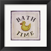 Framed Bathtime I