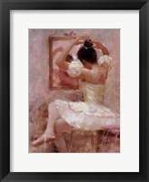 Reflective Moment Framed Print