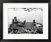 Peaceful Pond Framed Print