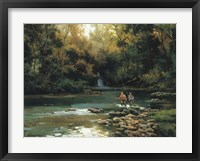 Framed Trout Fishermen