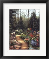 Framed Rock Garden