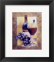 Smooth Red Wine Framed Print