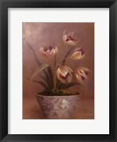 Framed Olivia's Flowers III