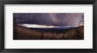 Framed Santa Fe Storm
