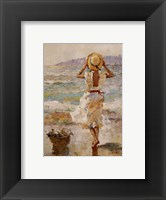 Seaside Summer I Framed Print