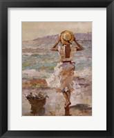 Seaside Summer I Framed Print