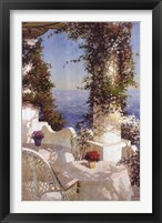 Framed Positano Seascape