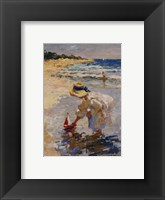 Framed Seaside Summer II