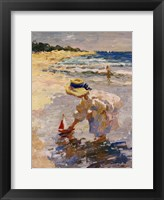 Seaside Summer II Framed Print