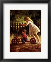 Along For The Ride Framed Print