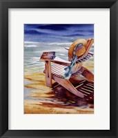 Seaside IV Framed Print