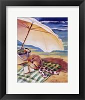 Seaside III Framed Print
