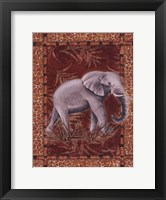 Framed Lone Elephant