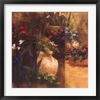 Flower Pots Right Framed Print