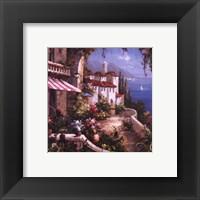 Mediterranean Arches I Framed Print