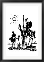 Framed Don Quixote