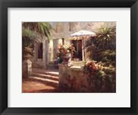 Framed Sunlit Terrace