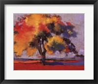 Framed Twilight Oak I