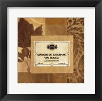 Vin Rouge Framed Print