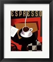 Framed Cubist Espresso