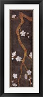 Framed Cherry Blossom Branch I