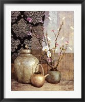Asian Still Life I Framed Print