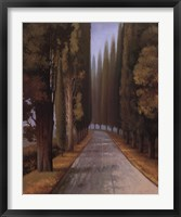 Along The Road II Framed Print