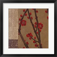 Eastern Blossoms 1 Framed Print