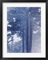 Blue Lace II Framed Print