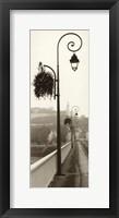 Pont De Chinon Framed Print
