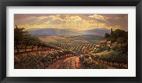 Framed Tuscany Splendor