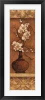 Orchids On Honey I Framed Print