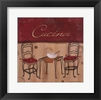 Cucina Framed Print