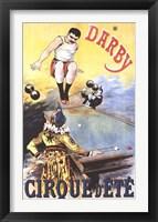 Framed Darby Cirque D'ete