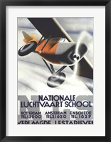Framed Nationale Luchtvaart School