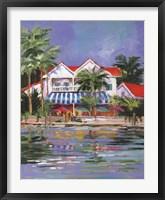 Beach Resort I Framed Print