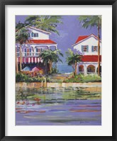 Beach Resort II Framed Print