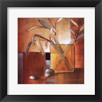 Afternoon Bamboo Leaves III Framed Print