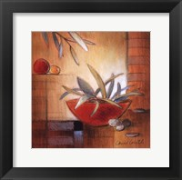 Afternoon Bamboo Leaves IV Framed Print