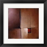 Chocolate Square I Framed Print
